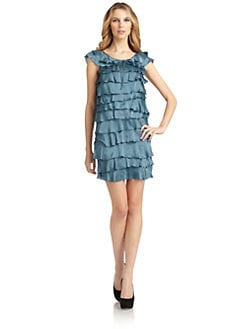 Love Moschino - Tiered Ruffled Dress
