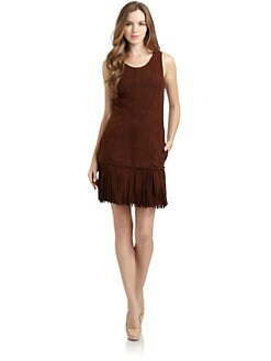 Love Moschino - Suede Fringe Dress