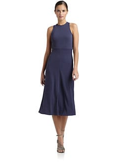 Tibi - Crossback Jersey Dress