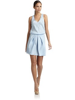 Tibi - Washed Silk Dress