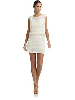 Tibi - Cotton Crochet Dress