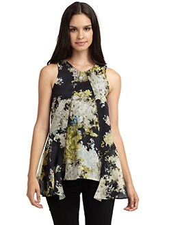 Cynthia Rowley - Hideaway Abstract Top
