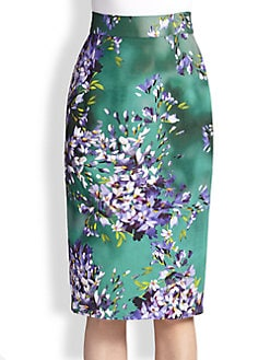 Escada - Hyacinth Pencil Skirt