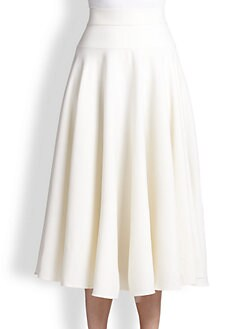 Escada - Stretch Wool Circle Skirt