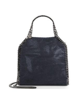 Mini Baby Bella velvet shoulder bag