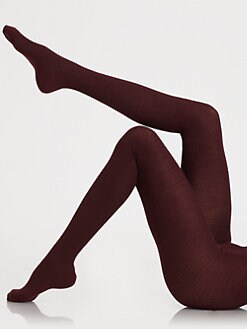 Falke - Merino Ribbed Tights