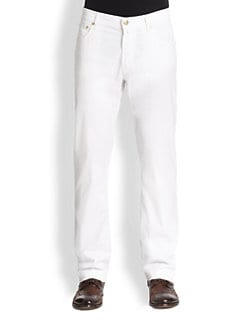 Corneliani - Five-Pocket Cotton Pants