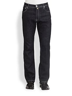 Corneliani - Five-Pocket Luxury Denim Jeans