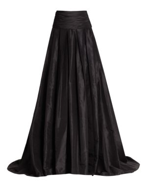 Icon Collection Silk Cummerbund Ball Gown Skirt