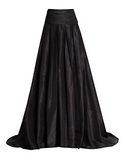 Carolina Herrera - Silk Cummerbund Ball Gown Skirt