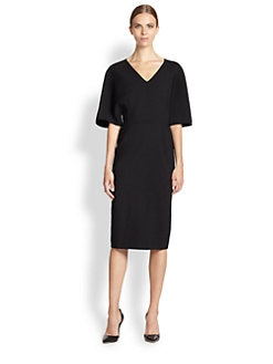 Carolina Herrera - Double Face Wool Dress