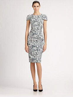 Carolina Herrera - Lace Print Dress