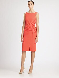 Carolina Herrera - Ruched Dress