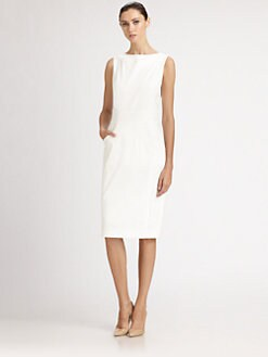 Carolina Herrera - Stretch Cotton Dress