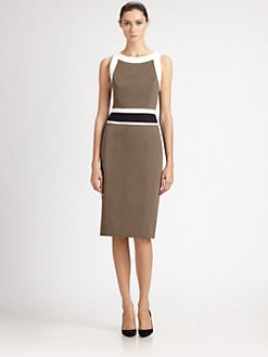 Carolina Herrera - Colorblock Dress