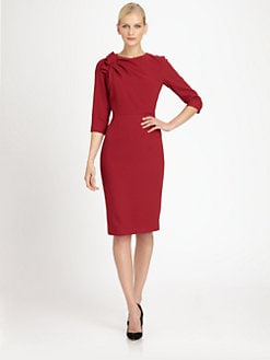 Carolina Herrera - Crepe Dress