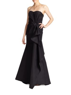 Icon Collection Silk Falle Draped Gown