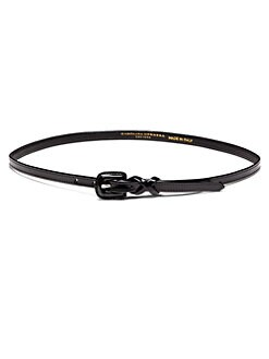 Carolina Herrera - Thin Patent Leather Belt