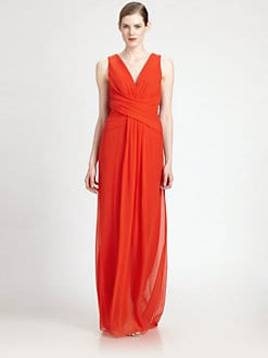Carolina Herrera - Silk Chiffon Gown