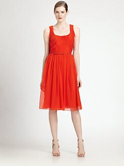 Carolina Herrera - Silk Chiffon Dress
