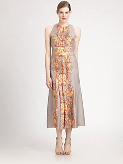 Carolina Herrera - Silk Baroque Dress