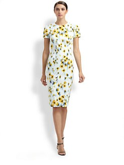 Carolina Herrera - Floral Dress