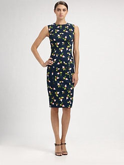 Carolina Herrera - Radish Print Dress
