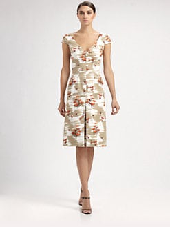 Carolina Herrera - Chair Print Dress