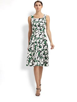 Carolina Herrera - Elephant Print Dress