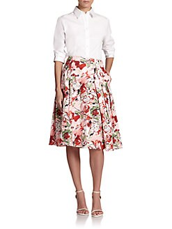 Carolina Herrera - Classic Cotton Blouse