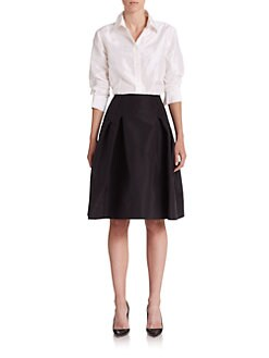 Carolina Herrera - Silk Taffeta Blouse