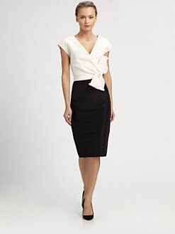 Carolina Herrera - Silk Faille Dress