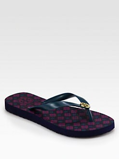 Tory Burch - Logo Thong Flips Flops