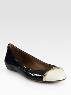 Tory Burch - Pacey Patent Leather Ballet Flats