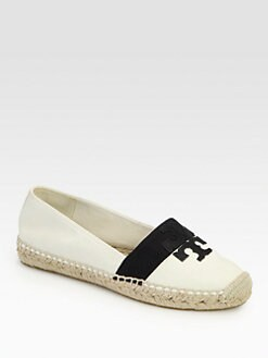 Tory Burch - Weston Canvas & Leather Espadrilles