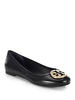 Tory Burch - Reva Leather Ballet Flats