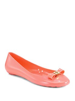 Tory Burch - Jelly Bow Ballet Flats