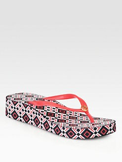 Tory Burch - Thandie Wedge Flip Flips