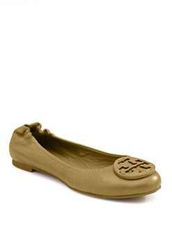 Tory Burch - Reva Logo Ballet Flats