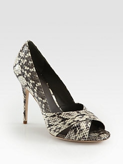 Tory Burch - Amira Snakeskin Pumps