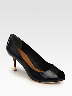 Tory Burch - Rea Patent Leather Pumps