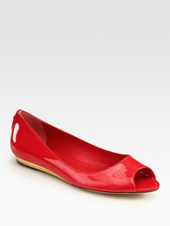 Tory Burch - Cornelia Patent Leather Ballet Flats