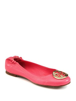 Tory Burch - Reva Leather Ballet Flats