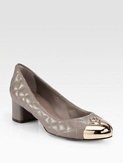 Tory Burch - Kaitlin Quilted Leather Pumps