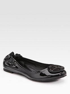 Tory Burch - Reva Patent Leather Ballet Flats