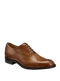 Saks Fifth Avenue Men's Collection - Cap-Toe Oxfords