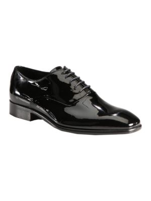 COLLECTION Patent Leather Oxfords