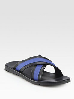 Saks Fifth Avenue Men's Collection - Criss Cross Sandals