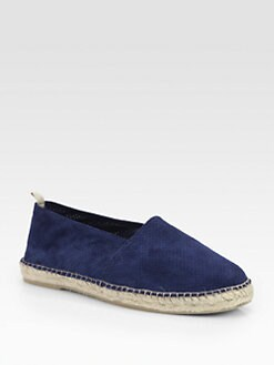 Saks Fifth Avenue Men's Collection - Perforated Suede Espadrille