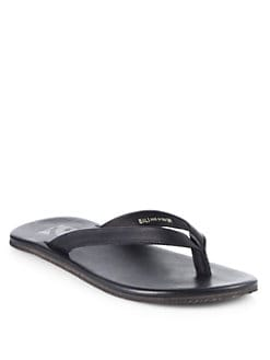 Saks Fifth Avenue Men's Collection - Bali Leather Thong Sandal